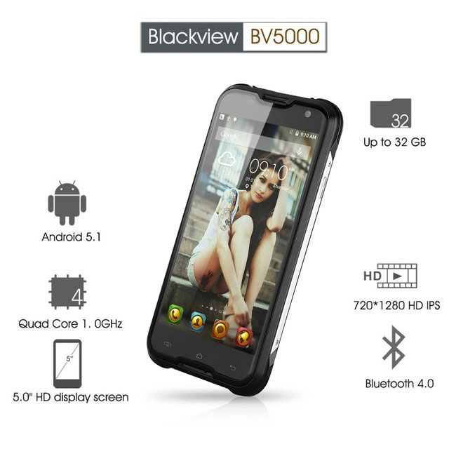 blackview bv5000 orange смартфон
