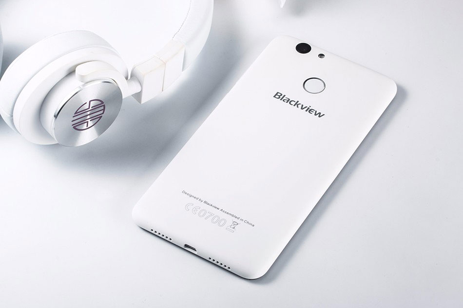 Blackview E7 Blue андроид