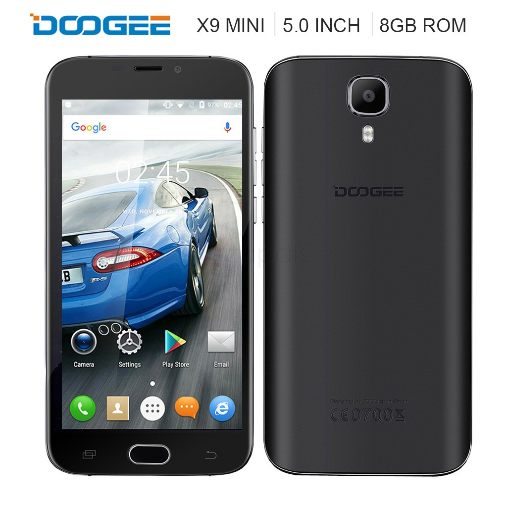 смартфон Doogee X9 Mini black .jpg