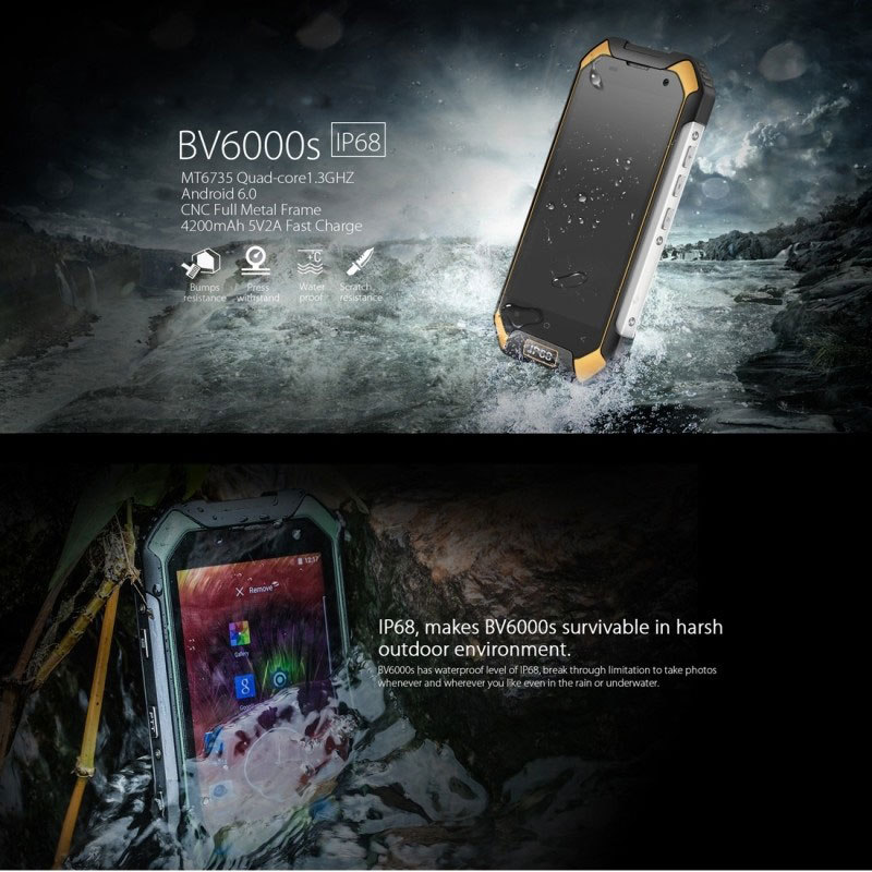 blackview bv6000s yellow
