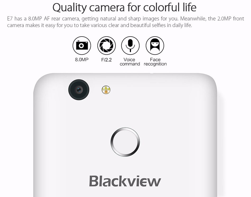 Blackview E7 Blue заказать